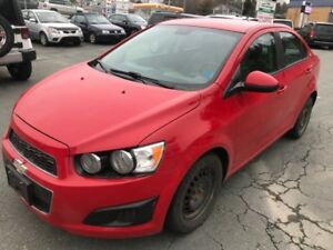 2012 Chevrolet Sonic 4dr Sdn LS