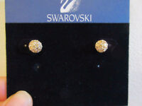 SWAROVSKI Euphoria Golden Shadow Pierced Earrings #992882 City of Montréal Greater Montréal Preview
