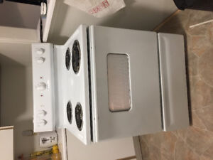 SOLD.  Fridge and Stove Moffat excellent condition