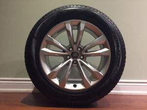 """OEM Audi Q7, 2018  19"""" RIMS AND TIRES Package 《Price Dropped》"""