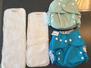 Peachybaby all-in-two cloth diapers