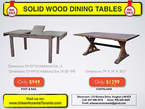 MODERN DINING TABLES. WOOD & GLASS DINING TABLES ON SALE TORONTO