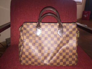 Louis Vuitton Speedy 35 Damier Ebene Canvas $850