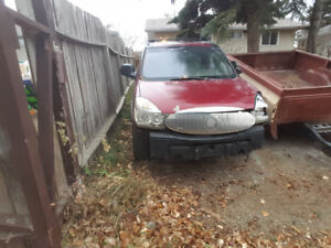 Parting out 05 Buick rendezvous awd