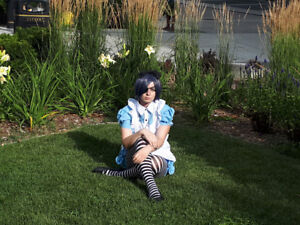 Black butler ciel in wonderland cosplay