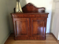 Antique cabinet (late 1800's)