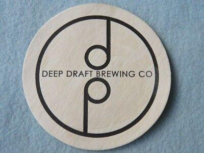 Beer Coaster ~ DEEP DRAFT Brewing Co ~ Denver, COLORADO ** 1000s More in STORE (Stores In Denver Co)