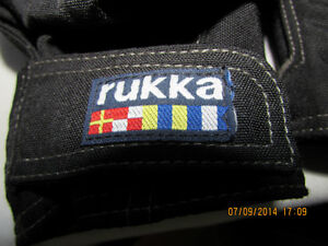 Manteau noir Rukka de motocyclette pour dame