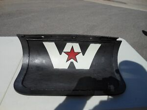 WESTERN STAR FRONT BUMPER MUDFLAP