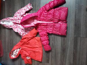 Size 3 girls coats