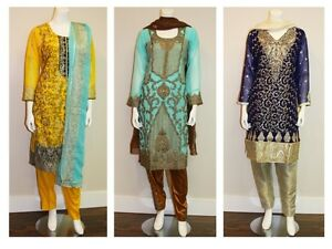 Indian / Pakistani Suits / Dresses, Bangles (Churi) & Jewellery
