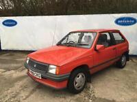 1989 Vauxhall Nova 1.2 Merit