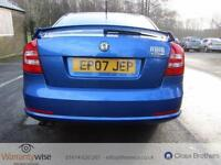 SKODA OCTAVIA VRS, Blue, Manual, Petrol, 2007 LONG MOT DRIVES SUPERB