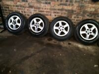 Hyundai alloys 1.6 inch