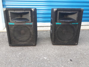 Complete Yorkville professional audio pa system