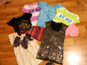 1$ a piece!   Clothes girls or teens, dresses,shirts, pants ...