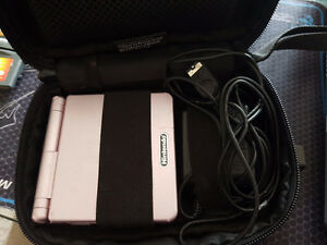 Gameboy advance sp pearl pink - $50
