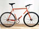 NO LOGO Fixie Single.*REFURBISHED-AS NEW* 58cm Steel Frame Road Bike
