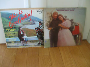 PAIR of VINTAGE LP RECORDS..BUCK OWENS / SUSAN RAYE & CB CELTICS
