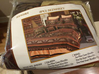 Queen sized 4pc bedsheet set, NEW