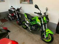 Benelli TNT 125 choice of 4... Also wanted