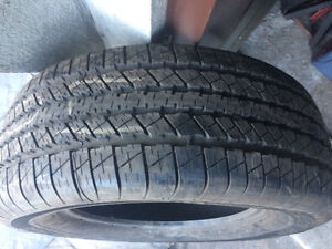 1 PNEU / 1 ALL SEASON TIRE  275/60/17 GOODYEAR WRANGLER HP