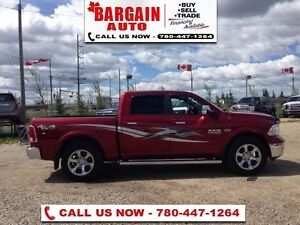2014 Ram 1500 Laramie  CREW CAB - 4X4 - AIR RIDE SUSPENSION