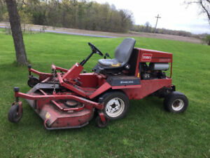 SOLD. Thank you. Diesel lawn mower 4 x 4