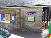 Energetic part-timer wanted for weekend work at the famous Sherborne Station cafe