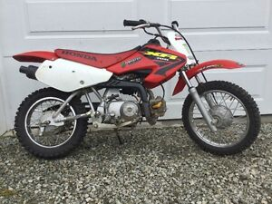 2004 Honda XR-70R and gear