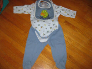 3 Piece Boys Outfit Size 6-9 Months