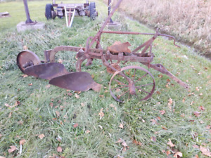 antique plow great for a lawn or garden