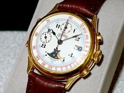 VINTAGE GHURKA LIMITED EDITION #050/500 SWISS CHRONOGRAPH MENS WATCH