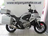 HONDA VFR1200 XD-C CROSS TOURER DCT AUTOMATIC, 63 REG, 3 BOX LUGGAGE...