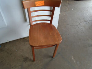 25 Wooden Chairs, inventory #1327-14CS