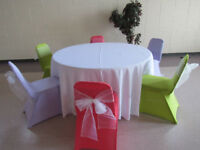 Rent your wedding and event linens at affordable prices!