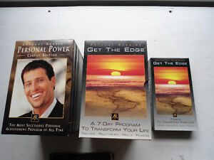 ANTHONY ROBBINS GET THE EDGE AND PERSONAL POWER