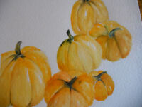 WATERCOLOUR PAINTING for FALL