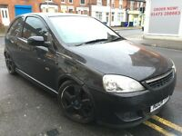 Vauxhall corsa 1.2 petrol sport very low mileage only 66k