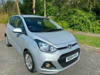 HYUNDAI i1O 1.0 SE 5 DOOR 64 REG IN SILVER WITH ONLY 52,000 MILES FULL SERVICE
