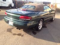 Chrysler Sebring convertible!