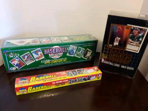 7 Unopened NHL MLB Hobby Box Cards Sets