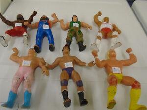 Vintage wrestling figures 1984 Titan sports