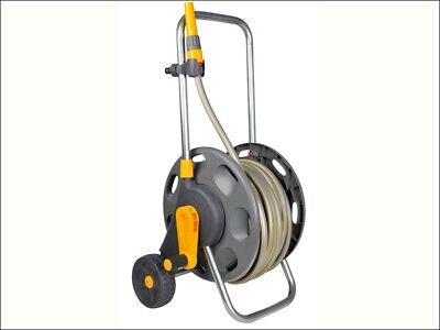 Hozelock Hose Cart & 50m Hose &  2510 Sprinkler 2435P