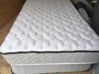 Single SEALY foam mattress with box spring.  FREE DELIVERY