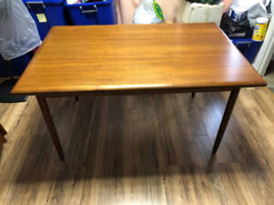 Teak table - $749-Dixie and Dundas pick up