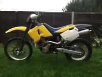 Husqvarna te410e road legal enduro