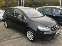 09 REG Volkswagen Golf Plus 1.9TDI ( 105ps ) Luna