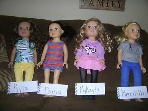 Jorney Girl Dolls and 2 Outfits