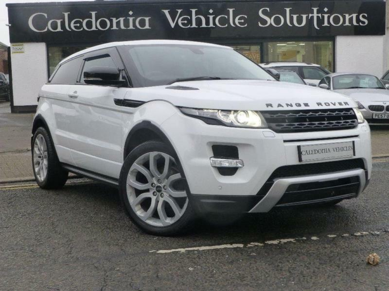 2012 land rover range rover evoque 2 2 sd4 dynamic coupe 4x4 3dr diesel in ayr south ayrshire. Black Bedroom Furniture Sets. Home Design Ideas
